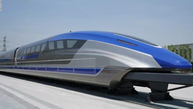Intercity Maglev Monorails